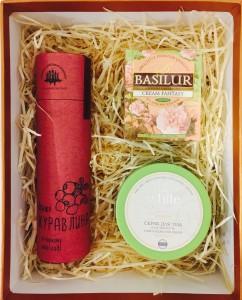 """Подарочная коробка """"Вкусная"""" — Kievflower - Доставка цветов"""