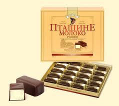 Цукерки Пташине Молоко — Подарунки купити з доставкою в KievFlower.  Артикул: 0370