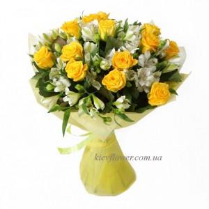 """Букет """"Барселона"""" — Букеты цветов заказать с доставкой в KievFlower.  Артикул: 101560"""