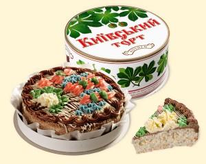 Торт Киевский — Подарки заказать с доставкой в KievFlower.  Артикул: 0340