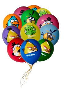 Шарики Angry Birds — Гелиевые шарики заказать с доставкой в KievFlower.  Артикул: 786445
