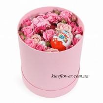 Цветы и киндер-сюрприз
