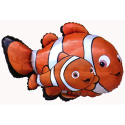 Гелиевый шар Рыба-Клоун Немо 81 см. — Гелиевые шарики заказать с доставкой в KievFlower.  Артикул: 8786698
