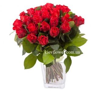 "Букет роз ""Эль Торо"" — Букеты цветов заказать с доставкой в KievFlower.  Артикул: 85645"