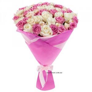 "Кустовая роза ""Натали"" — Розы заказать с доставкой в KievFlower.  Артикул: 526298"