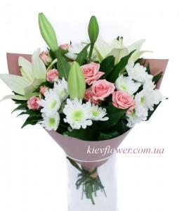 Розовая жемчужина — Kievflower - Доставка цветов