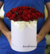 """Шляпная коробка """"Красная Роза"""""""