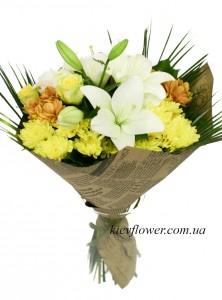 Осенний поцелуй — Kievflower - Доставка цветов