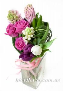 """Букет """"Праздник весны"""" — 8 МАРТА - Корпоративные подарки заказать с доставкой в KievFlower.  Артикул: 88813"""