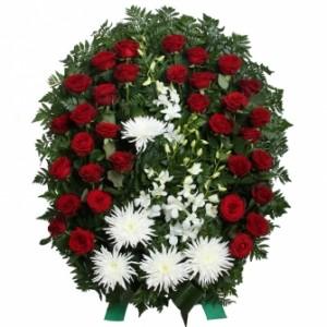 """Ритуальный венок """"Скорбь"""" — Kievflower - Доставка цветов"""