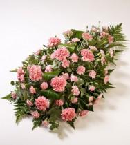 Ритуальная композиция из живых цветов