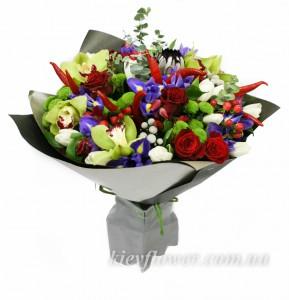 Букет с характером — Kievflower - Доставка цветов
