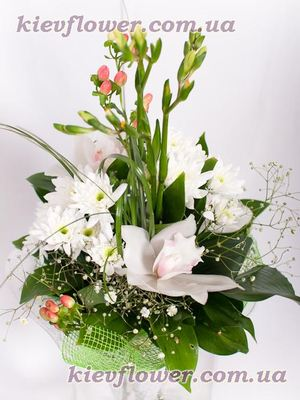 "Букет ""Муза"" — Букеты цветов заказать с доставкой в KievFlower.  Артикул: 0632"