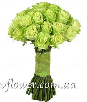 Букет из 25 роз — Букеты цветов заказать с доставкой в KievFlower.  Артикул: 0625