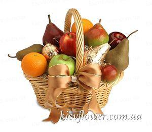 Корзина фруктов — Подарки заказать с доставкой в KievFlower.  Артикул: 5020