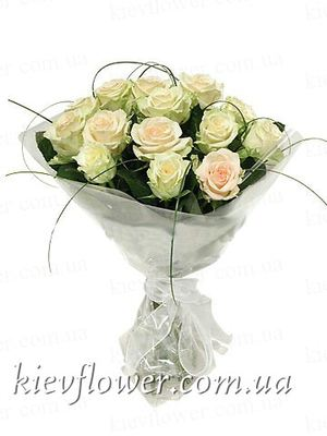 "Букет роз ""Лирика"" — Букеты цветов заказать с доставкой в KievFlower.  Артикул: 1264"