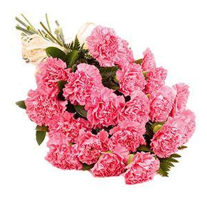 Букет из 39 гвоздик — Букеты цветов заказать с доставкой в KievFlower.  Артикул: 1170