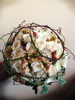 Дизайнерский букет невесты № 15 — Свадебные букеты заказать с доставкой в KievFlower.  Артикул: 9015