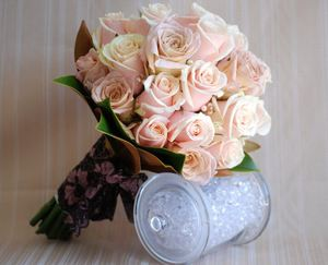 Свадебный букет невесты — Свадебные букеты заказать с доставкой в KievFlower.  Артикул: 9031
