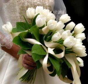 Свадебный букет невесты № 38 — Свадебные букеты заказать с доставкой в KievFlower.  Артикул: 9038