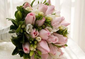 Свадебный букет невесты № 39 — Свадебные букеты заказать с доставкой в KievFlower.  Артикул: 9039