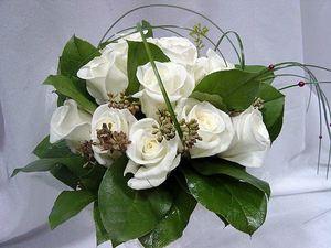 Свадебный букет невесты № 41 — Свадебные букеты заказать с доставкой в KievFlower.  Артикул: 9041