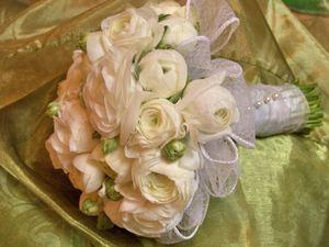 Свадебный букет невесты № 45 — Свадебные букеты заказать с доставкой в KievFlower.  Артикул: 9045