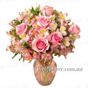 """Букет """"Прелесть"""" — Букеты цветов заказать с доставкой в KievFlower.  Артикул: 0612"""