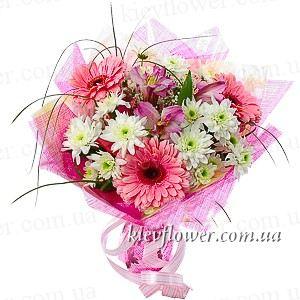 """Букет """"Очарование"""" — Букеты цветов заказать с доставкой в KievFlower.  Артикул: 0534"""