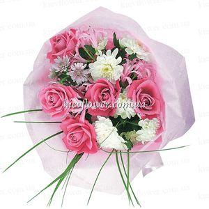 """Букет """"Моей Малышке"""" — Букеты цветов заказать с доставкой в KievFlower.  Артикул: 0498"""
