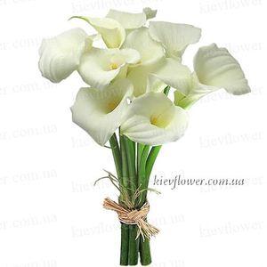 Букет из калл — Букеты цветов заказать с доставкой в KievFlower.  Артикул: 0508