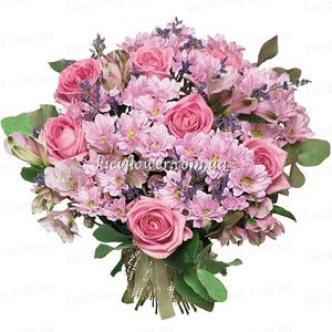 "Букет ""Романтика"" — Букеты цветов заказать с доставкой в KievFlower.  Артикул: 0607"