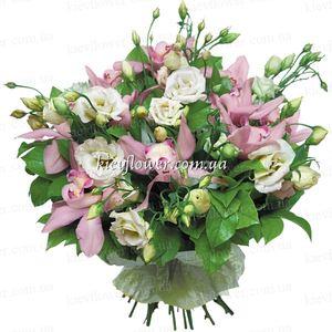 """Букет """"Я думаю о тебе.."""" — Букеты цветов заказать с доставкой в KievFlower.  Артикул: 0509"""