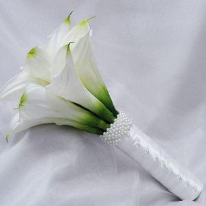 Букет невесты из калл №1 — Свадебные букеты заказать с доставкой в KievFlower.  Артикул: 9001