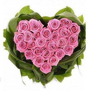 """Композиция """"Ты - мое сердце!"""" — Букеты цветов заказать с доставкой в KievFlower.  Артикул: 0496"""