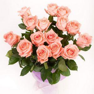 Букет из роз с доставкой — Букеты цветов заказать с доставкой в KievFlower.  Артикул: 1197