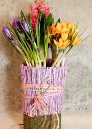 "Композиция ""Весна"" — 8 МАРТА - Корпоративные подарки заказать с доставкой в KievFlower.  Артикул: 1798"