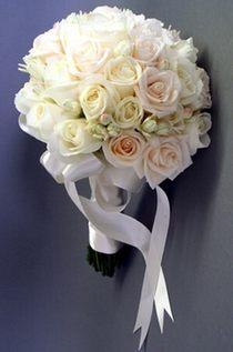 Букет невесты из роз и фрезий № 5