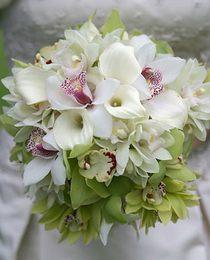Букет невесты из орхидей №6