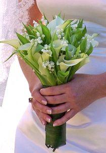 Свадебный букет невесты № 7