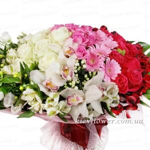 """Букет """"Мэрилин"""" — Букеты цветов заказать с доставкой в KievFlower.  Артикул: 0624"""
